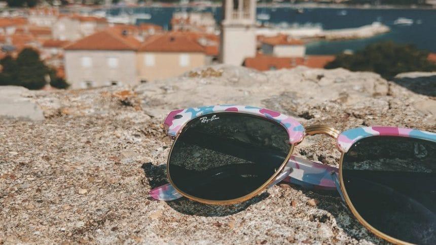 Стильные и яркие очки Ray-Ban